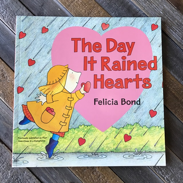 The Day it Rained Hearts Valentine Lessons for Kindergarten and Preschool