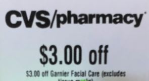 Garnier cvs coupon