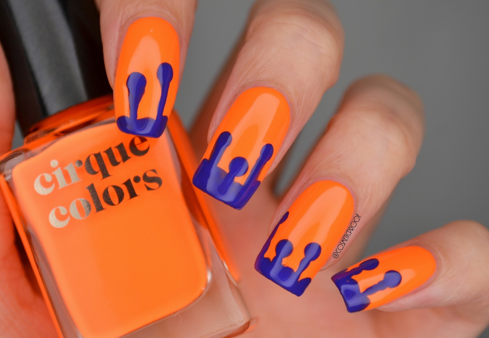 NAILS   Drippy, Trippy Neons #ManiMonday   Cosmetic Proof ...