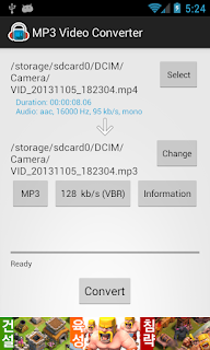 MP3 Video Converter APK V1.9.46 Full Version [Terbaru]