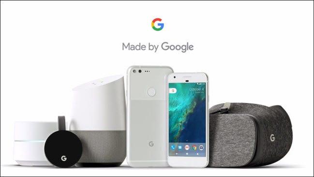 صنعت بواسطة جوجل 2016 تشكيلة