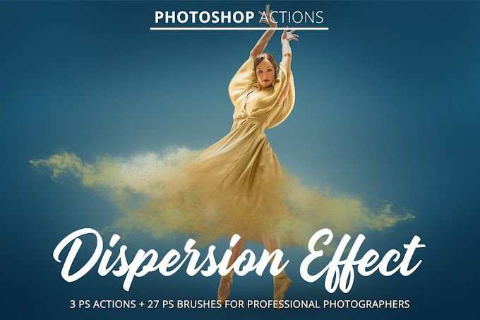 Creativemarket Dispersion Effect Actions for PS 4845835