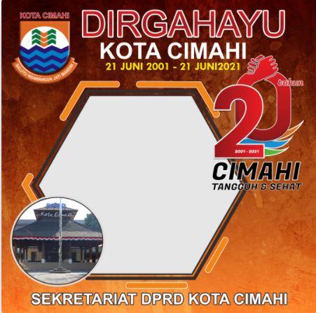 HUT Kota Cimahi 2021 ke 20
