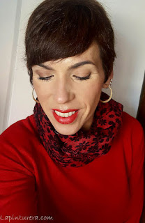 Jersey rojo 05-Maquillaje