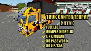 Truck Canter Terpal Kotak