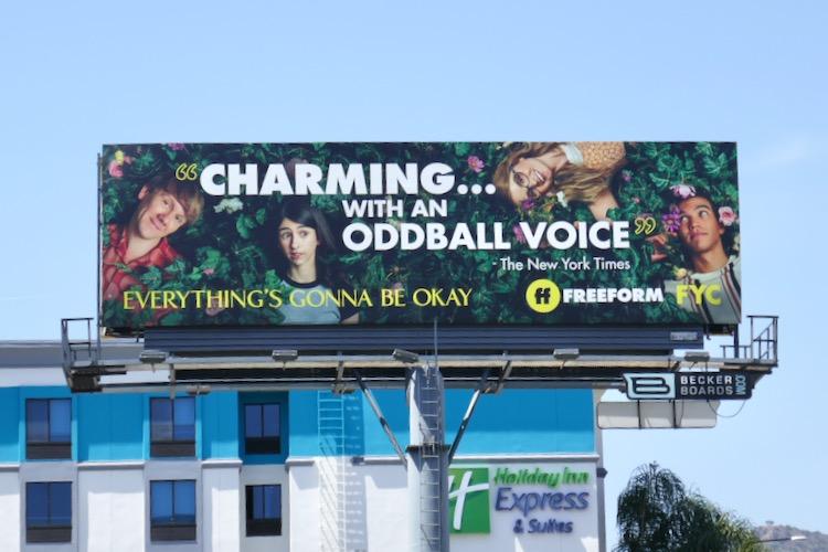 Everythings Gonna Be Okay Emmy FYC billboard