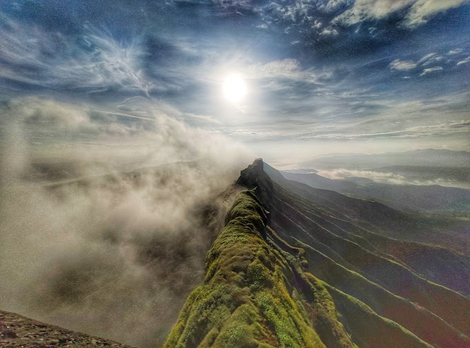 The Majestic Rajgad's suvela machi