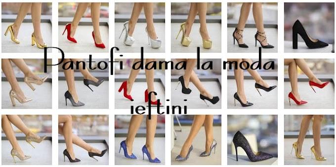 Pantofi dama eleganti de ocazii preturi mici online 2019