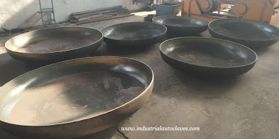 Elliptical Tank Heads were Exported to America