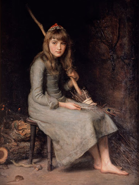 Ariadne John Everett Millais