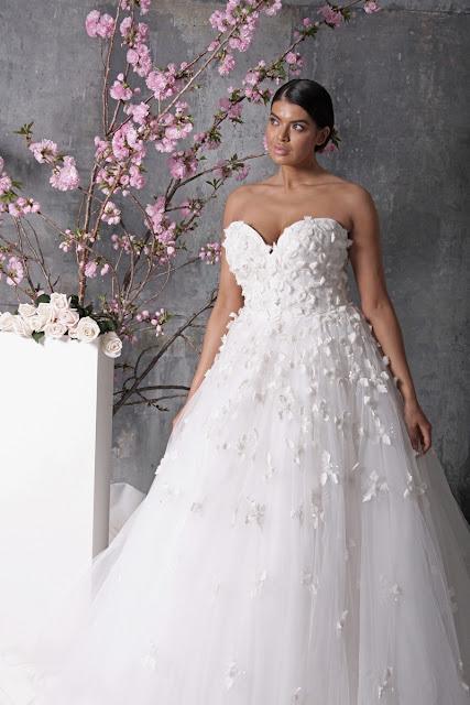 Christian Siriano Wedding Gowns, Designer Gowns, wedding day