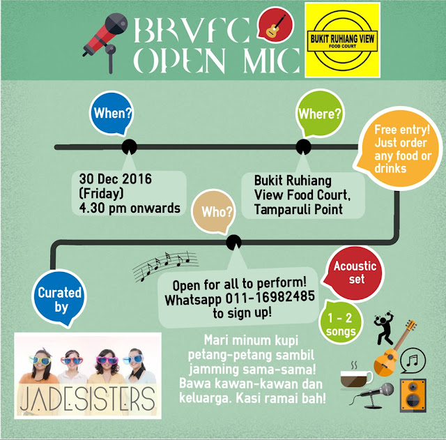 Bukit Ruhiang View Food Court Open Mic