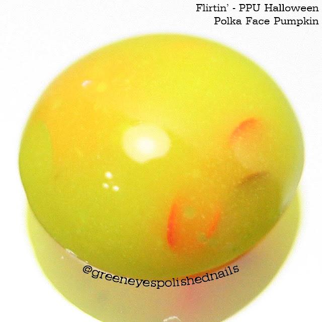 Flirtin' | Polka Face Pumpkin