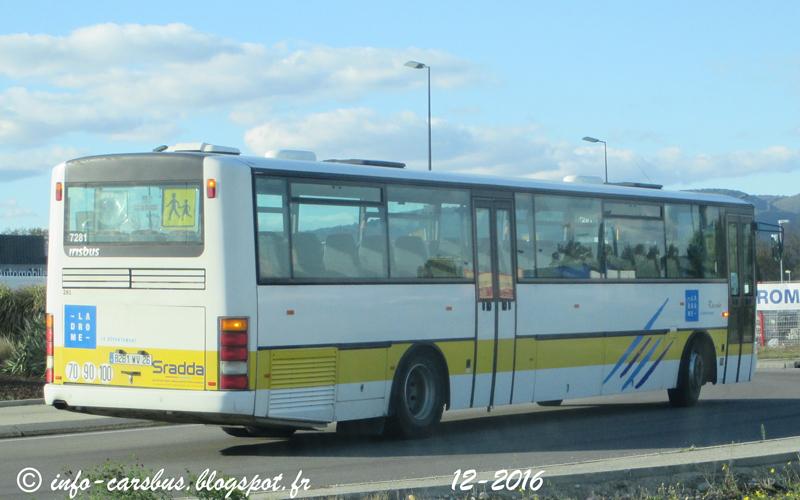 Info cars bus irisbus sradda - Ligne 118 bus ...