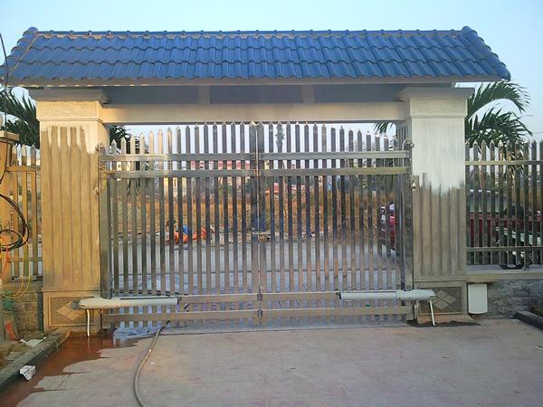 Thợ làm cửa, Cổng Sắt lùa tự động đóng mở tại hải phòng giá rẻ chuyên nghiệp uy tín
