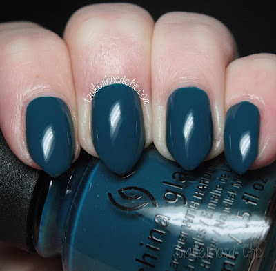 china glaze rebel swatches review jagged little teal