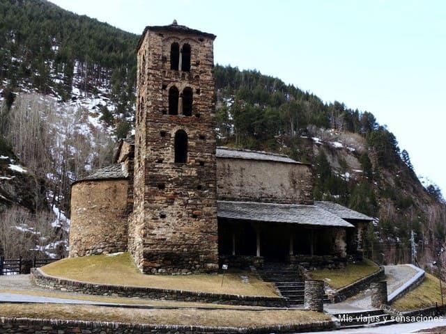 Iglesia de Sant Joan de Caselles, Canillo, Andorra