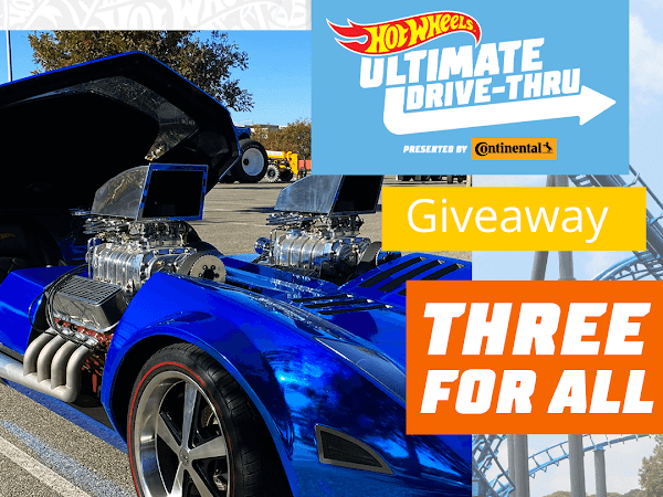 Hot Wheels Ultimate Drive-Thru Pass Giveaway Ends 2/25
