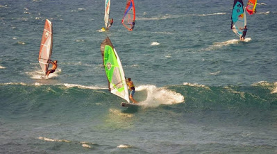 www.viajaportodoelmundo.com   Windsurf en Pinamar