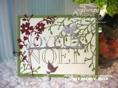 joyeux noel card front