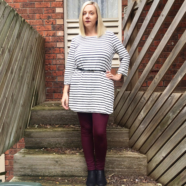 Katies Striped Tunic - Almost Posh