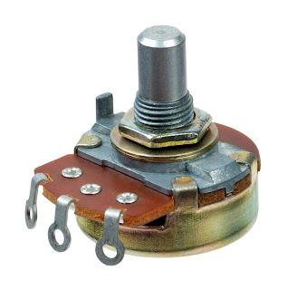 Penyebab Power Amplifier suara kecil - potensiometer putar