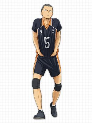 ทานากะ ริวโนะสุเกะ (Tanaka Ryunosuke) @ Haikyuu!! ไฮคิว!! คู่ตบฟ้าประทาน