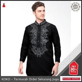 KKO52 RSR966 Baju Koko Slimfit Sablon Murah BMGShop