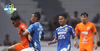 Klasemen Liga 1 2018 Terbaru Usai Persib Menang atas Borneo FC