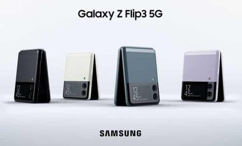 Samsung announces Galaxy Z Flip 3 with a bigger screen