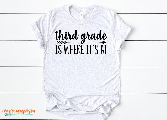 3rd Grade Tshirt