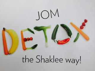 Detox; cara makan untuk detox; kenapa perlu detox; detox dengan sihat; detox keseluruhan; shaklee detox; PLS challenge; shaklee detox; shaklee labuan