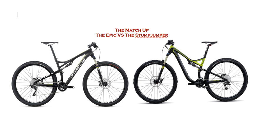 The Match Up! Specialized Epic vs Stumpjumper - Ascent Cycling