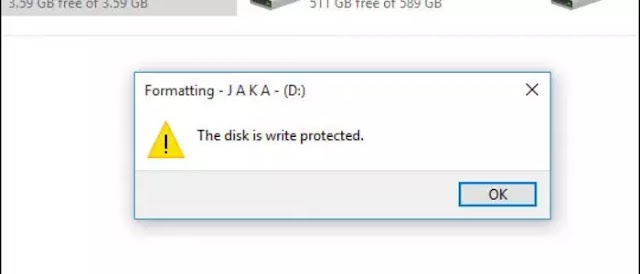 Cara Memperbaiki USB Flashdisk Write Protected