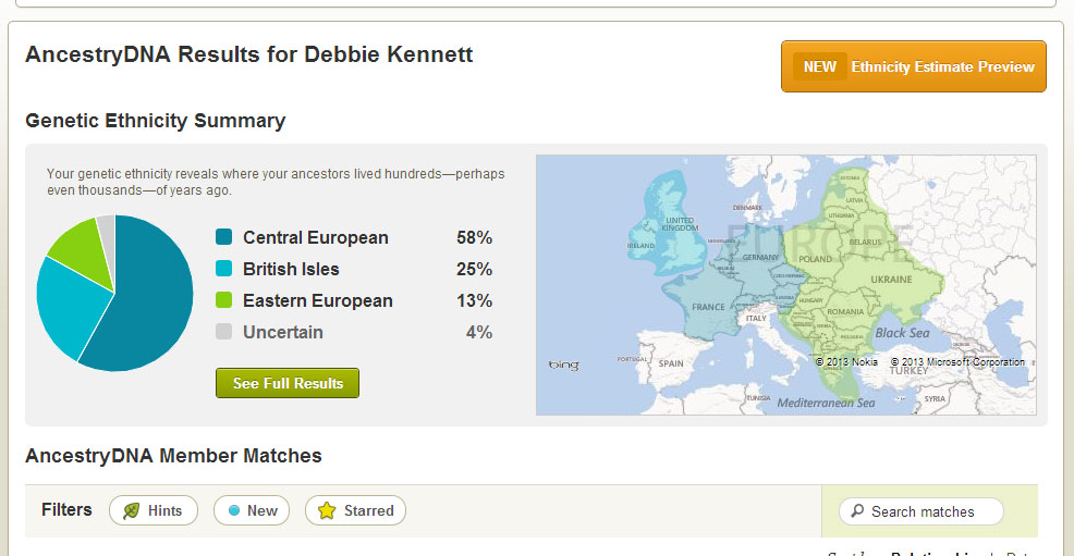 free dna ancestry test uk