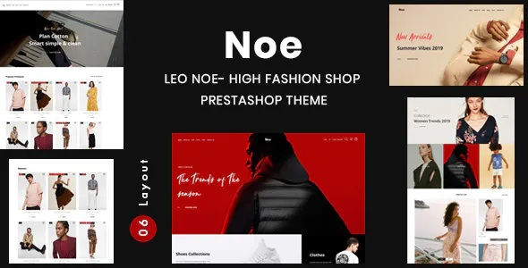 Best High Fashion Shop Prestashop Theme