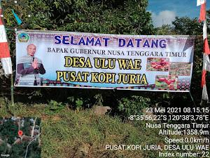 Berkunjung ke Colol, Gubernur NTT bermalam, Mampir di Desa Ulu Wae Kabupaten Manggarai Timur