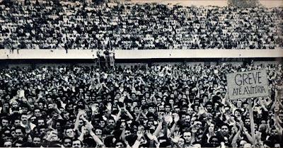 Greve dos metalúrgicos do ABC paulista em 1979