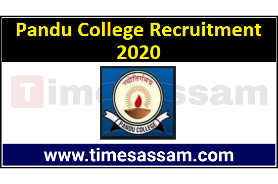 Job in Pandu College
