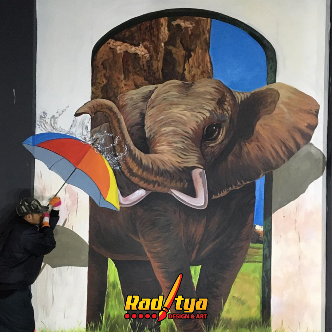 mural trick art