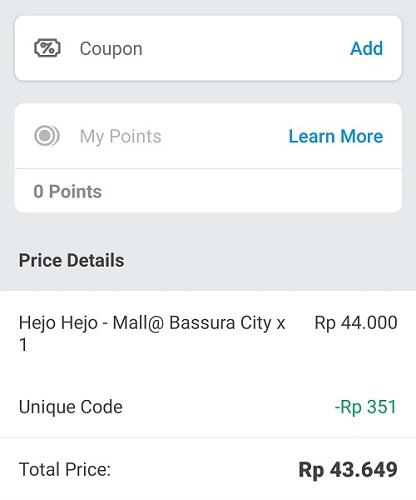 Hejo Hejo Mall Bassura