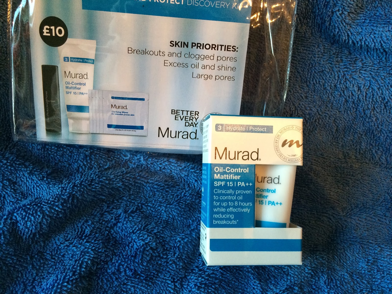 Murad Balance and Protect Travel Kit