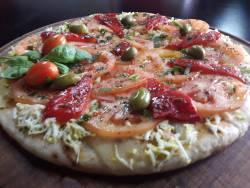 Pizza Primavera ingredientes