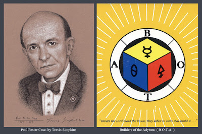 Paul Foster Case. Occultist and Freemason. Builders of the Adytum. B.O.T.A. Tarot. by Travis Simpkins