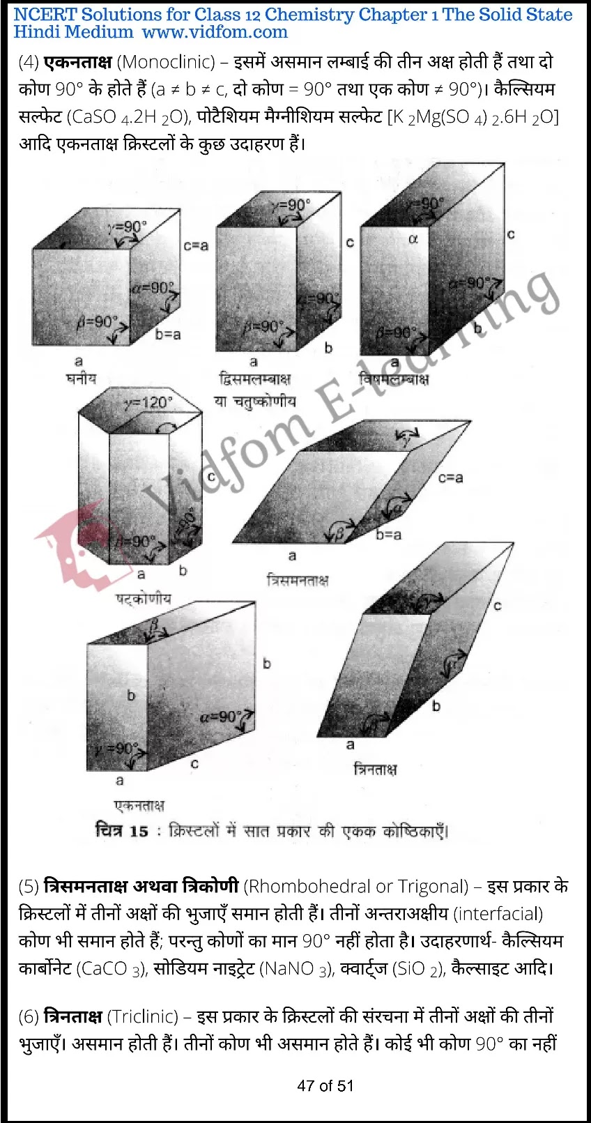 class 12 chemistry chapter 1 light hindi medium 47