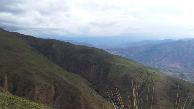 Es ist wieder etwas trockener in den Bergen Boliviens