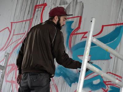 halle graffiti