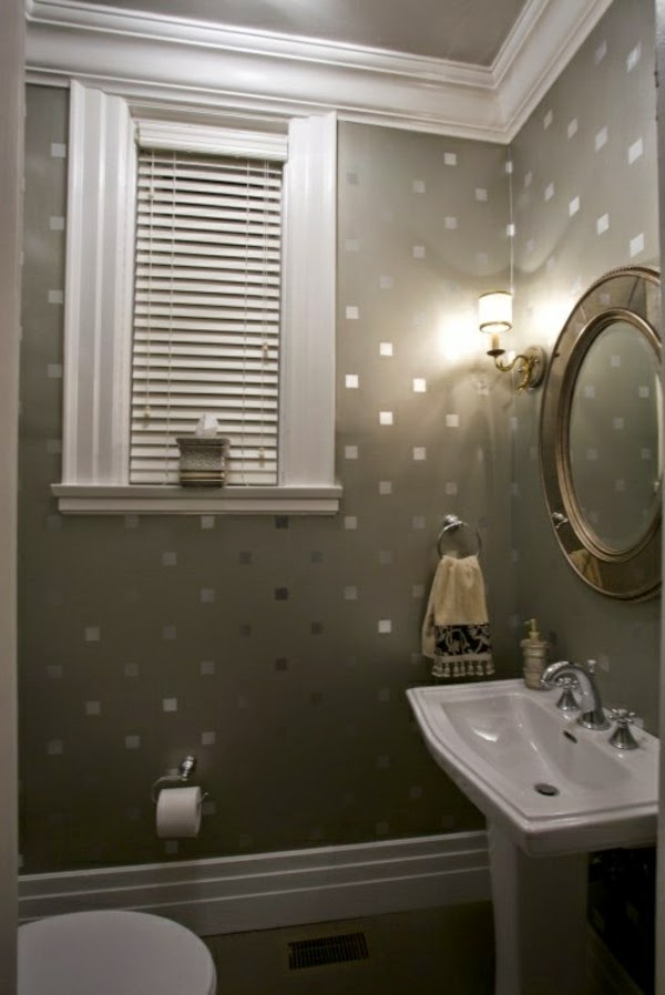 10 creative wall painting ideas and techniques for all rooms bathroom paint ideas home remodeling ideas zimbio