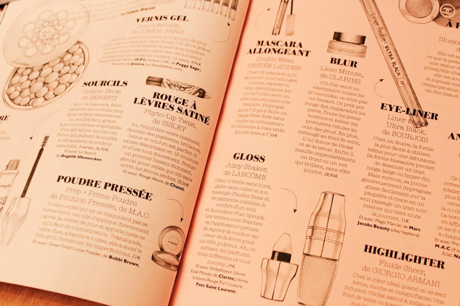 Glamour beauty book magazine beauté bien être féminin ©Deuxaimes