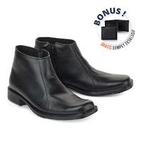 Sepatu Formal Pria Zoned Project LTE 952(Bonus Dompet DC 228 / DC 126)